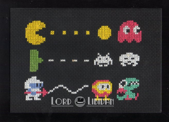 retro trio sampler cross stitch