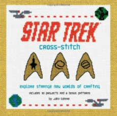 star trek cross stitch book cover